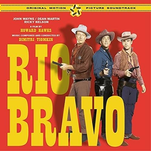 Tiomkin Rio Bravo + 8 Bonus Tracks O.s.t. Cd Es Imp