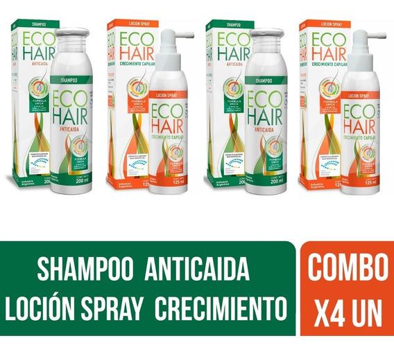 Eco Hair Shampoo Anticaída + Loción Crecimiento Cabello