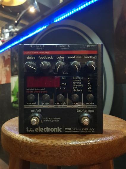 Pedal Tc Eletronic Nova Delay Nd-1 ( Semi Novo ) Na Caixa !