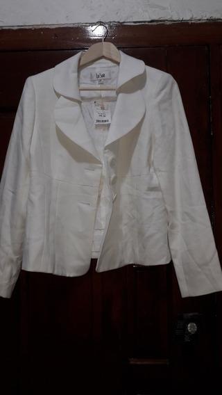 Saco Le Suit Talla L Blanco