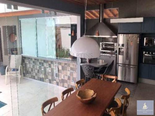 Imagem 1 de 21 de Portal Das Palmeiras | Casa Mobiliada 192 M²  5 Dorms | 7324 - V7324