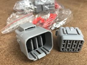 Conector Plug 12 Vias Selado Uso Automotivo