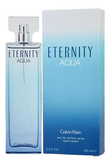 Perfume Eternity Aqua By Calvin Klein Feminino Edp 100ml 12x Frete Gratis Original