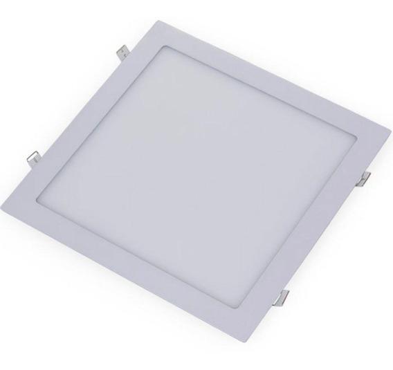 Painel Plafon Luminária Embutir Led Quadrado 24w 6500k
