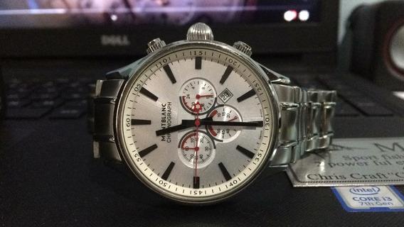 Relógio Aço Inox Mb Cronometer
