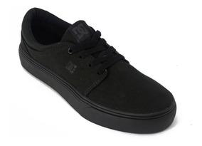 Tenis Dc Shoes Trase Black Unissex Usado Apenas 1 Vez