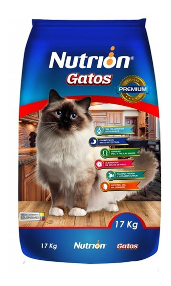 Nutrion Gatos 17 K - kg a $5418