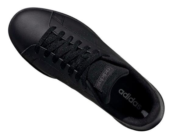 Tenis adidas Advantage Casual Clásico Originales Hombre Negros Comodos Casuales/deportivos