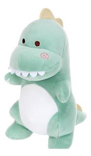 Dinosaurio Verde De Peluche Ultrasuave Miniso Dino Kawaii