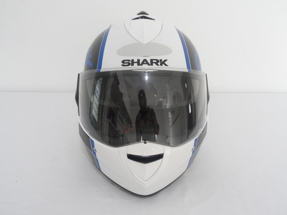 Capacete Shark Evoline Serie 3 Drop Wbr Tamanho 56