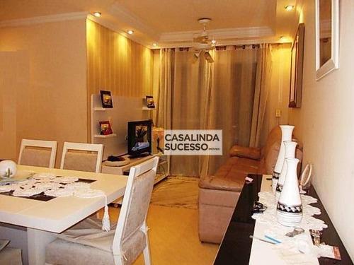 Apartamento Com 2 Dormitórios À Venda, 52 M² Por R$ 200.000,00 - Guaianazes - São Paulo/sp - Ap6085