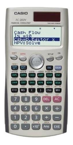 Calculadora Financiera Casio Fc-200v Relojesymas