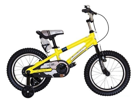 Bicicleta Royal Baby Freestyle Alloy Rodado 14 - Star Cicles