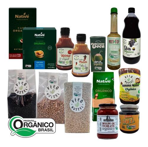 Imagem 1 de 2 de Cesta Básica Pantanal Orgânica (19 Itens)