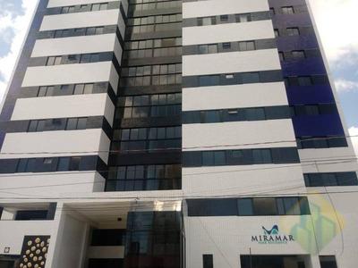 Apartamento Com 3 Dormitórios À Venda, 71 M² Por R$ 350.000 - Miramar - João Pessoa/pb - Cod Ap0743 - Ap0743