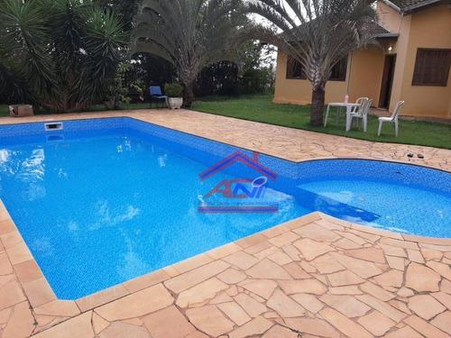 Imagem 1 de 26 de Chácara À Venda, 1232 M² Por R$ 750.000,00 - Chácara Recreio Alvorada - Hortolândia/sp - Ch0003