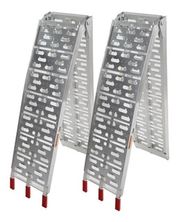 Rampa Aluminio Plegable Para Motocicletas 680 Kg