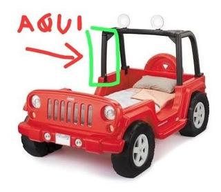 Cama Carro Jeep Wrangler Tamaño Individual Con Detalle