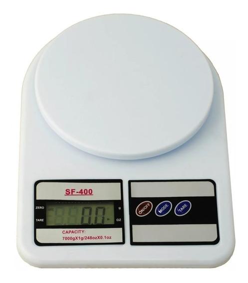 Balanza Digital Peso De Cocina Portatil 7kg Incluye Bateria