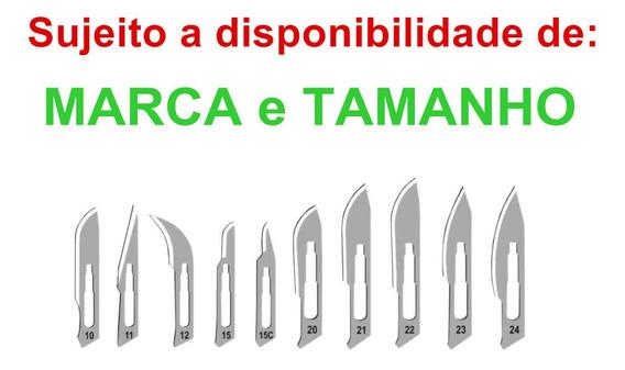 Lamina Bisturi 11 Advantive + Cabo Bisturi N°3