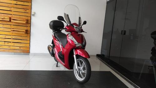 Honda Sh300i 2017 Vermelha Tebi Motos