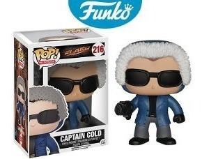 Funko Pop Original Importado Captain Cold Flash Series