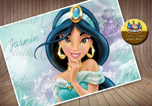 Papel De Arroz Para Bolo Comestível Jasmine