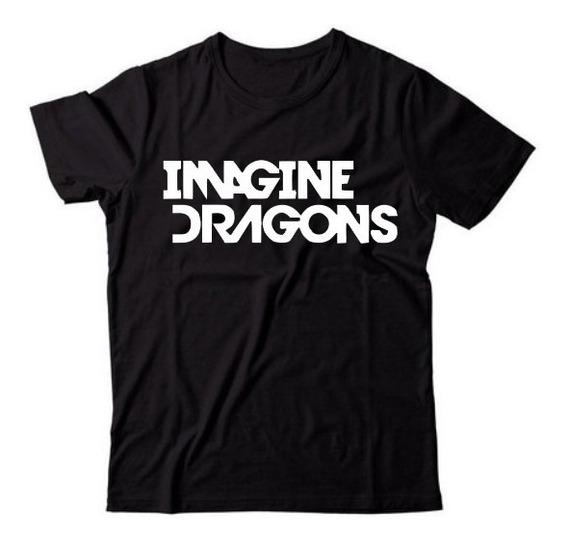 Camiseta, Camisa Imagine Dragons Rock In Rio 2019 A Melhor