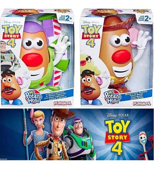 Mr Potato Head Woody E Buzz Toy Story 4 Hasbro E3068 Pack