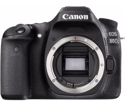 Câmera Canon Eos 80d Dslr (apenas Corpo) 24.2mp
