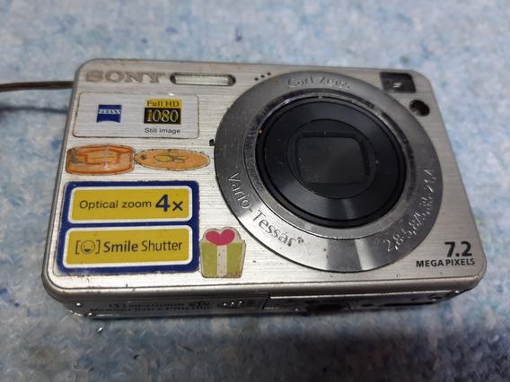 Camera Digital Sony Dsc-w110 No Estado