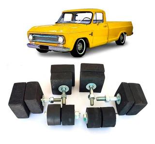 Calço Da Cabine E Radiador Chevrolet C-10 A10 D-10 D-60 Jogo