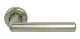 Manija Puerta Picaporte Doble Balancin Casiopea Aluminio Ino