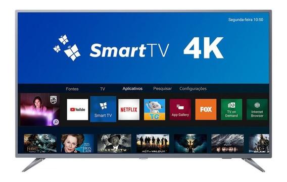 Smart Tv Led 55 Philips 55pug6513/78 Ultra Hd 4k 3 Hdmi Usb