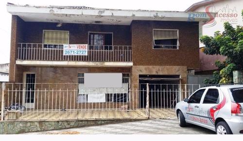 Imagem 1 de 1 de Terreno À Venda, 336 M² Por R$ 1.100.000,00 - Vila Santa Clara - São Paulo/sp - Te0160