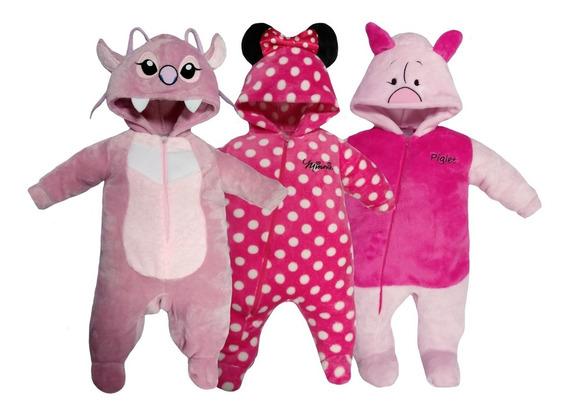 Kit 3 Mamelucos Disney Angel, Minnie, Piglet A Precio De 2