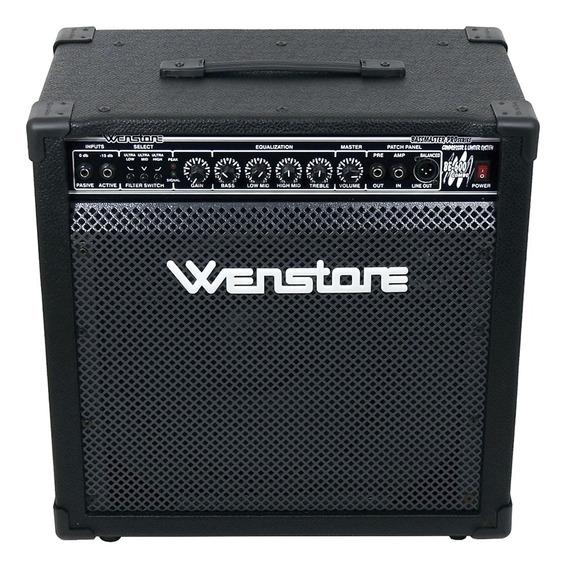 Amplificador De Bajo Wenstone Be-600 Combo 60w