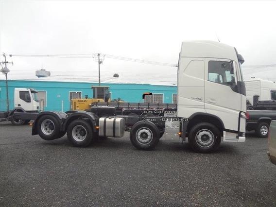 Volvo Fh 460 Bi-truck Globetrotter, Extra Comfort, Teto Alto