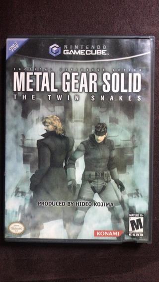 Metal Gear Twin Snakes - Americano - Gamecube