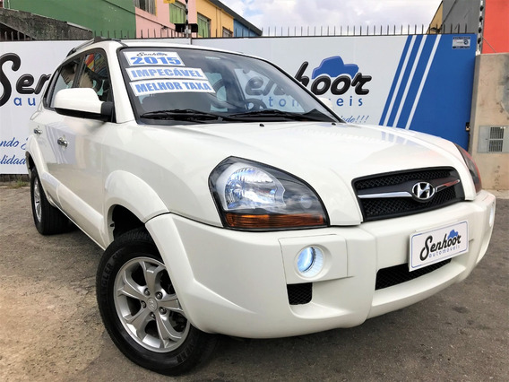 Hyundai Tucson Gls 2.0 Flex Automática 2015 - Branca