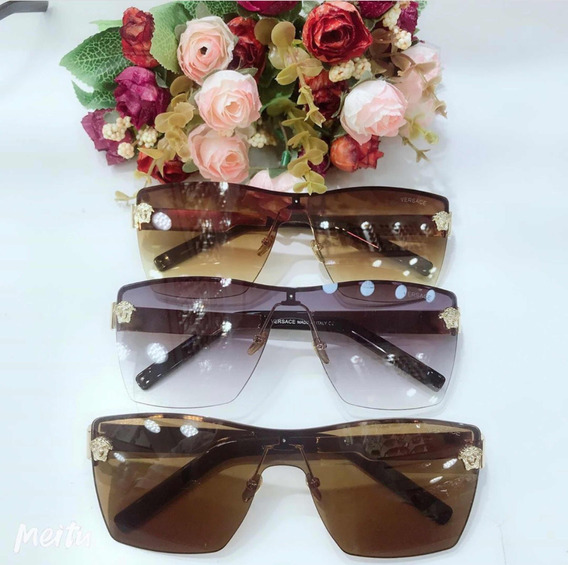 Óculos De Sol Versace Unissex Quadrado