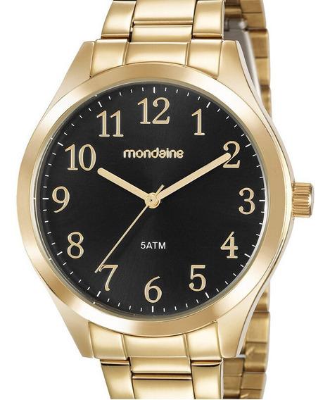 Relógio Mondaine Feminino Dourado 99397lpmvde1