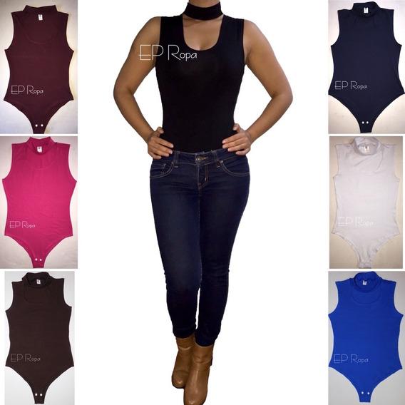 Blusa Body Chocker Moda Mujer Ajusta Al Cuerpo Envío Gratis