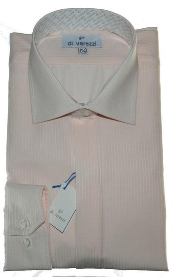 Camisa Vestir Ratier Cartera Oculta Di Varezzi Vestir Rosa