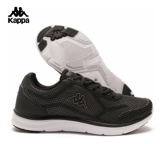 Zapatilla Deportiva Kappa Hombre Logo Quantum 2 Negras