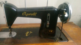Máquina De Costura Antiga Vigorelli Funcionando