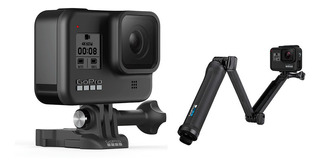 Gopro Hero 8 Black Impermeable 4k + Soporte 3-way