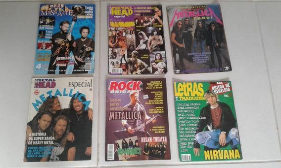 Revista Rock B. / Metallica / Metal Head / Metal Massacre