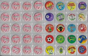 1998 Lote 10 Tazos Da Coleção Tokmania Brasil Penta Futebol