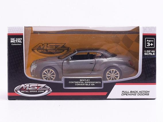 Auto De Coleccion Bentley Continental Supersports 1:38 Msz